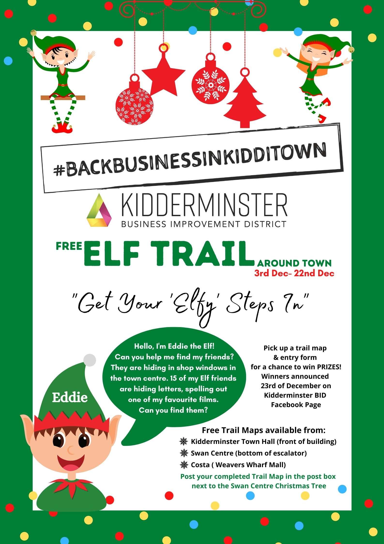 Flyer for Elf Trail FINAL